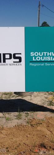 IPS Street Sign