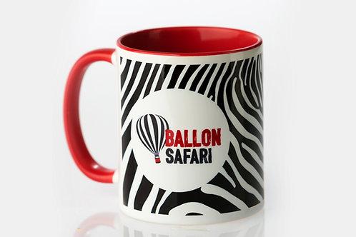 BallonSafari Tasse Red