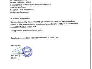 We Are Honored To Be Merged With A M.Office System Sdn Bhd