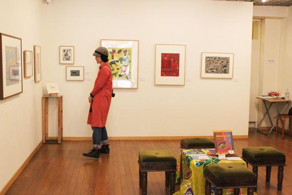 ブッシュマンが描いたアート展 Gifts from the Kalahari カラハリからの贈りもの in Osaka