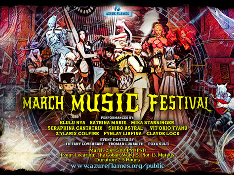 (Past Event) March Music Festival