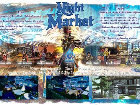 (Past Event) Night Market