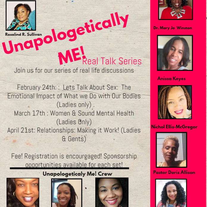 Unapologetically Me! Real Talk Series