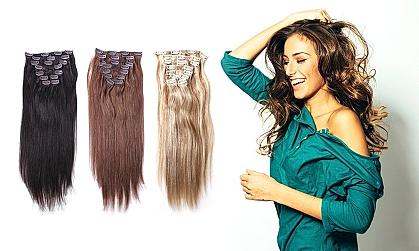 Custom made human hairextensions of exceptional quality