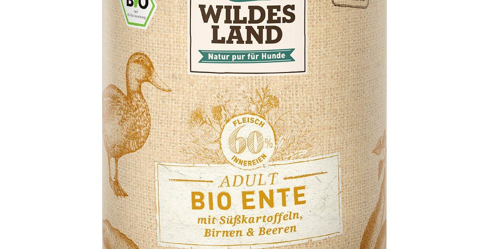 BIO Ente mit Süßkartoffeln, Birnen & Beeren