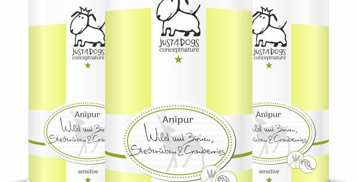 Anipur Wild mit Birnen, Steckrüben & Cranberries