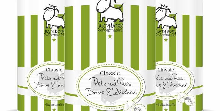 Classic Pute mit Reis, Birnen & Zucchini