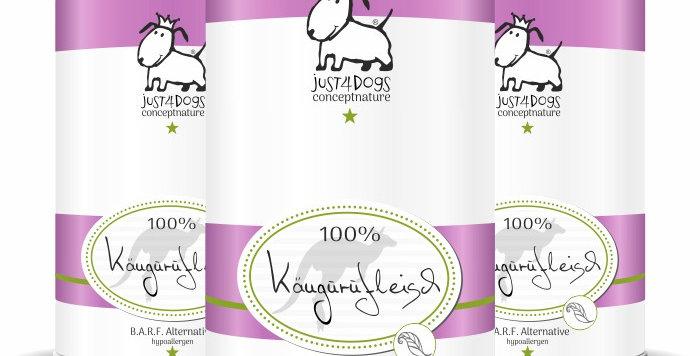 100% Kängurufleisch pur