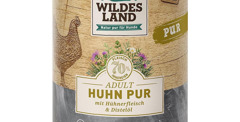 Huhn Pur mit Distelöl