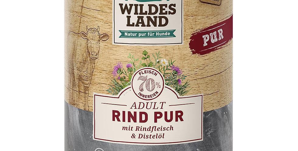 Rind Pur mit Distelöl
