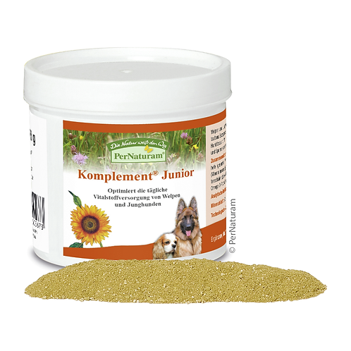 Komplement® Junior - Speziell für Welpen & Junghunde ab 250g