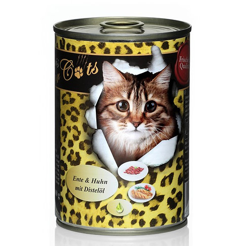 """""""O´CANIS FOR CATS ENTE, HUHN UND DISTELÖL, 400g"""""""