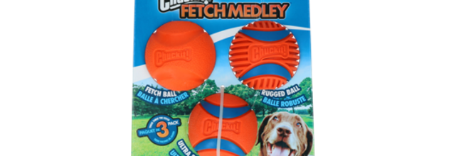 CHUCKIT FETCH BALLS