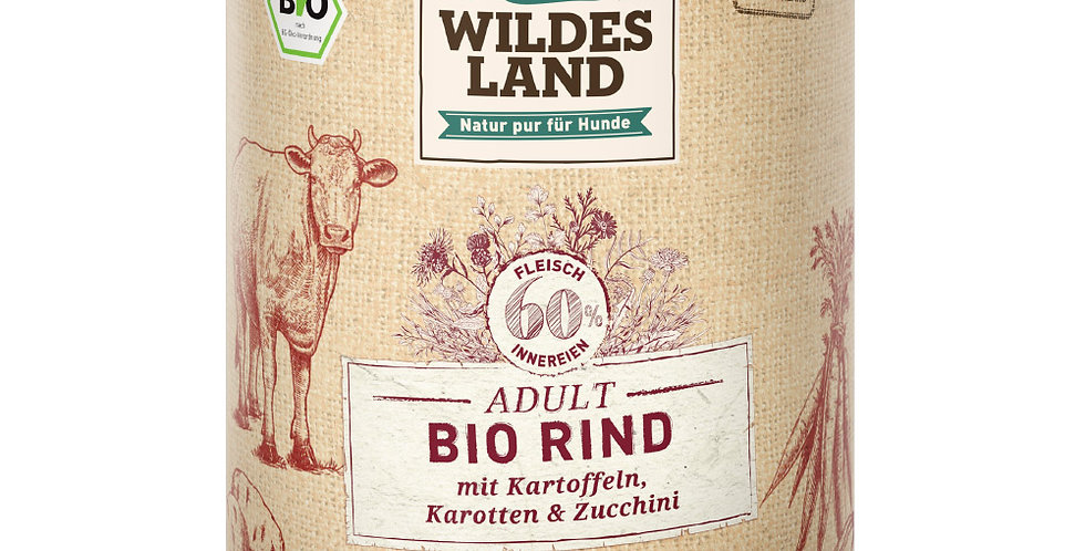 BIO Rind mit Kartoffeln, Karotten & Zucchini