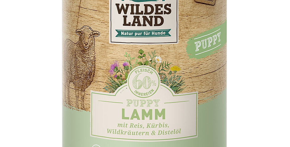 Lamm mit Reis, Kürbis und Wildkräutern
