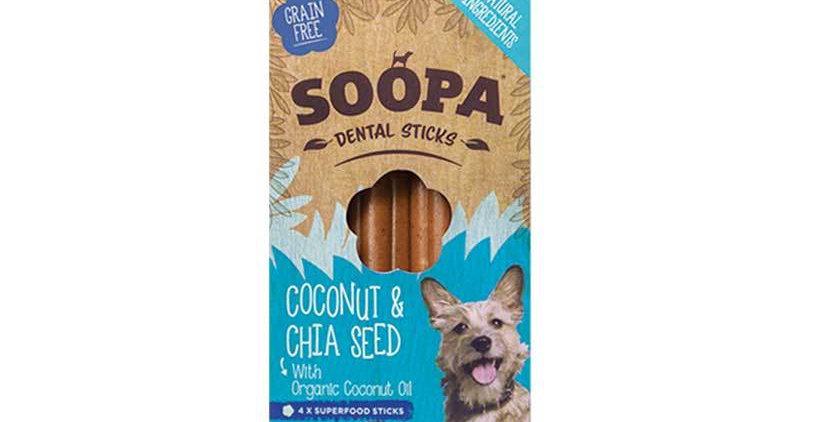 Kokosnuss & Chia Samen Sticks
