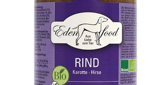 BIO-Rind mit Karotte & Hirse