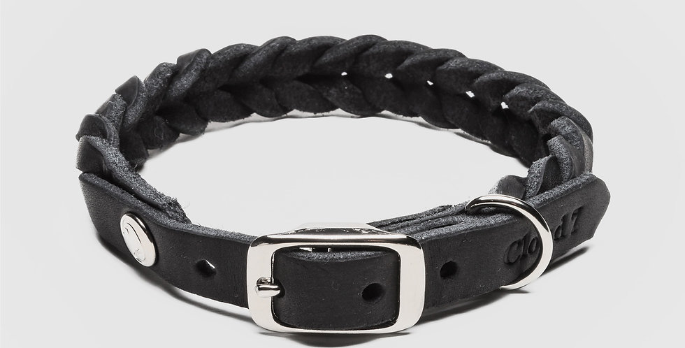 Cloud7 Hundehalsband Central Park Black