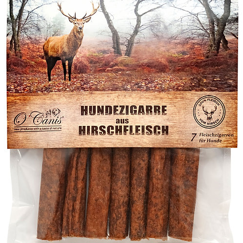 O´CANIS Premium 7er Zigarre 100% Hirsch