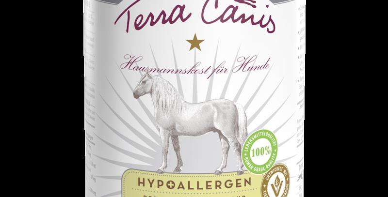 Pferd mit Topinambur