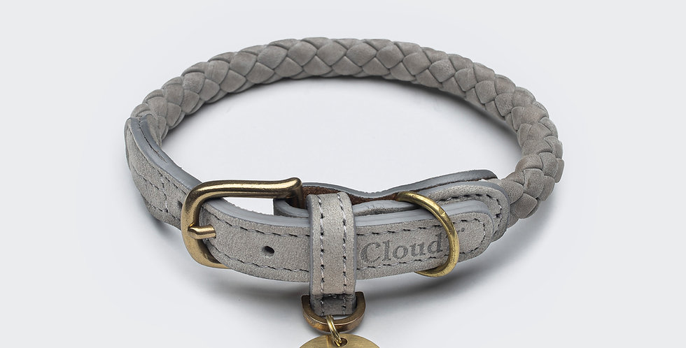 Cloud7 Hundehalsband Ravello Taupe