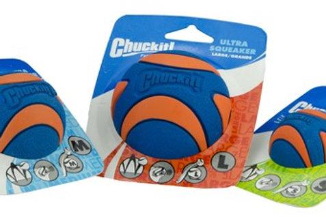 Chuckit Ultra Squeaker Ball S,M,L