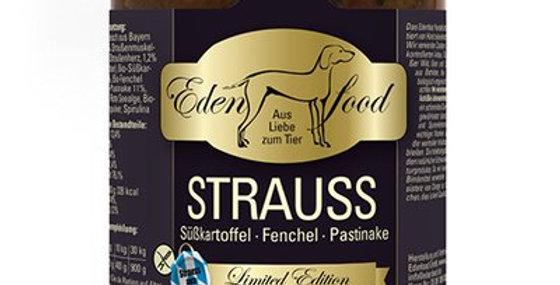 Strauss mit Süsskartoffeln, Fenchel & Pastinake