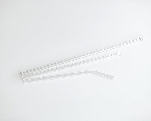 Glass Straws - clear