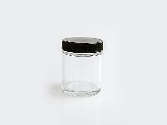 Clear Glass Jar - 2 ounce