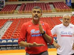 Eddie Casiano   Entrenamiento selección basket de Puerto Rico