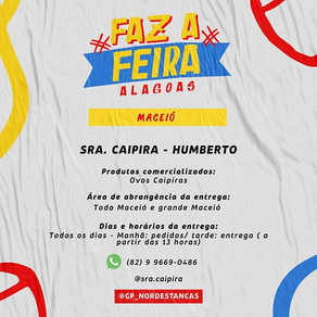 Faz a Feira Alagoas | Lista de Feirantes de Maceió