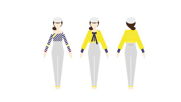 Vêtements modèles féminins