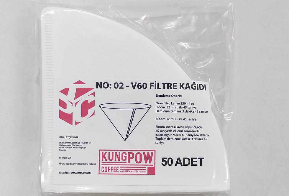 KUNGPOW V60 Filter Paper 50pc