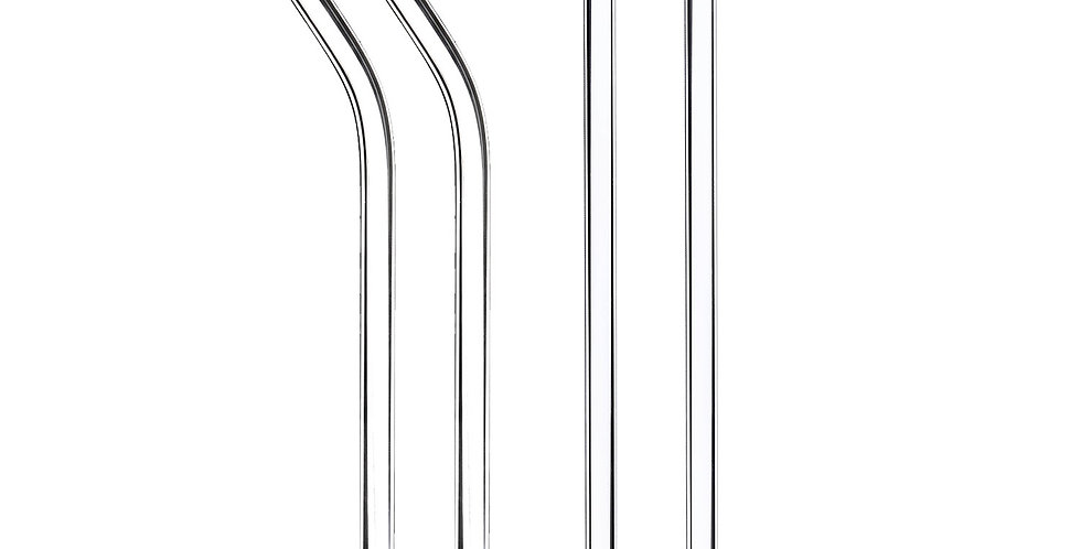 20 cm Glass Straw
