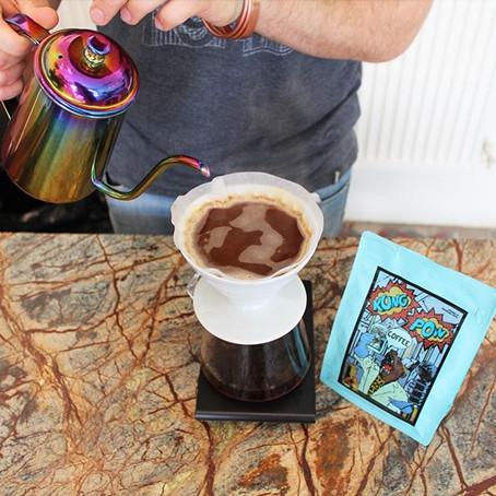 Enter The Roasters: Warrick Masfen ve Suzi Erit girişimi KungPow Coffee