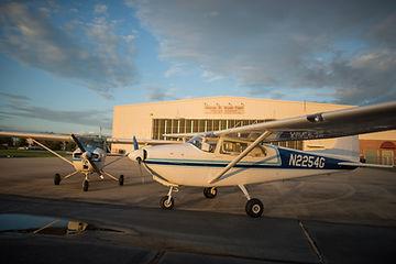 Cessna flight school fleet