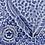 Thumbnail: Royal Blue Feather Square Dish