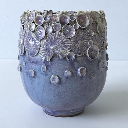 Lilac Ocean Floor Sprig Vase