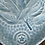 Thumbnail: Baby Blue Feather Heart-Shaped Dish