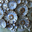 Thumbnail: Blue/Brown Floral Sprig Vessel