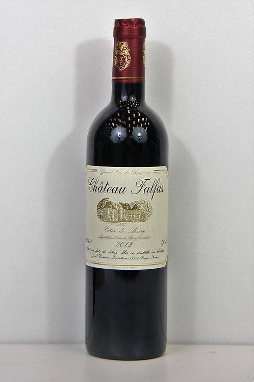 Bordeaux - Côtes de bourg - Chateau Falfas - 2012