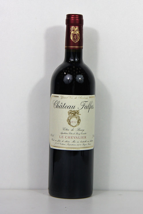 """Bordeaux - Côtes de bourg - Chateau Falfas - """"Le Chevalier"""""""