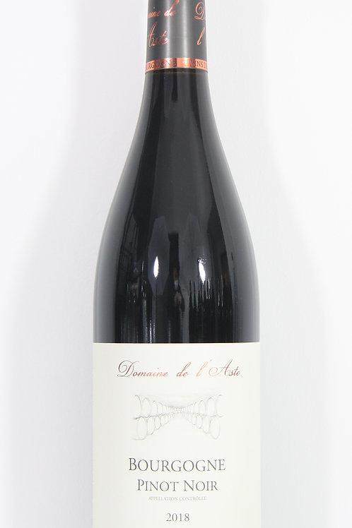 Bourgogne Pinot Noir Domaine de l'aste 2018