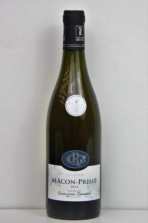 Mâcon Prissé - Domaine Gueugnon Remond 2016