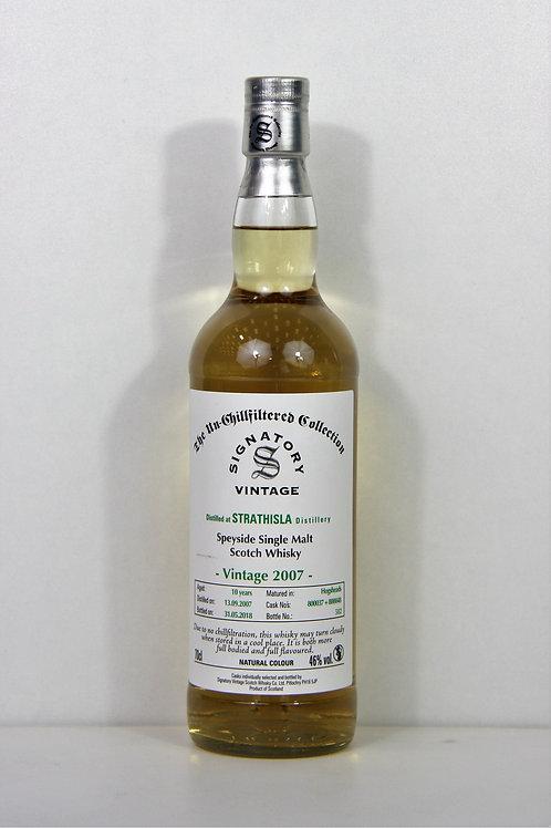 Whisky - Synatoey Vintage 2007 Strathysla