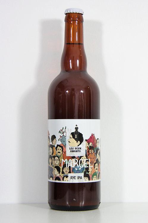 """Bière Brasserie des 2 amants """"Marcel"""" 75 cl"""