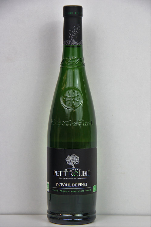 Picpoul de Pinet - Domaine de petit roubié - 2017