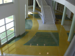 Polished & Acid Etched Floor