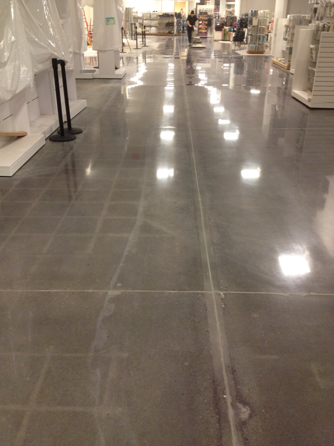 Polished Concrete Department Store