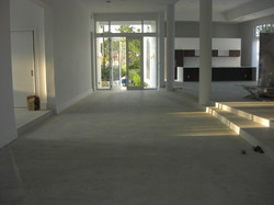 Flat Finish Polished Concrete